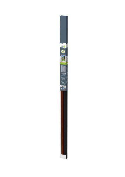 IS-Alu-Tür 100 x 215 cm braun easyLINE