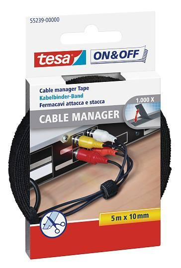 tesa® On & Off Cable Manager