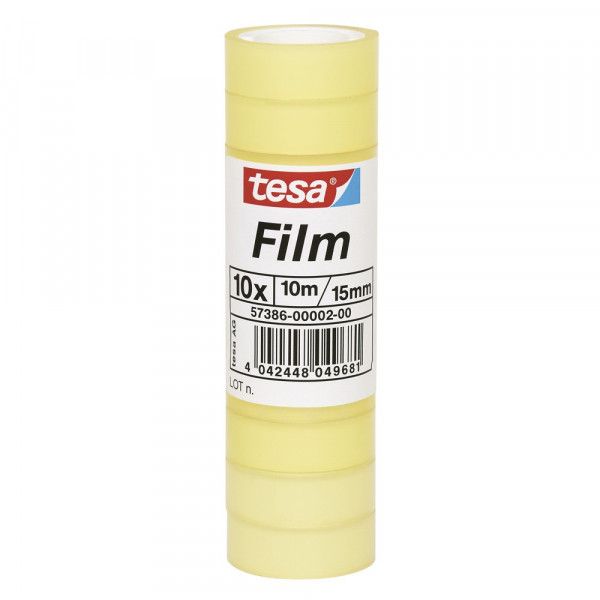 tesafilm® standard, 10 Rollen, Shrink Tower