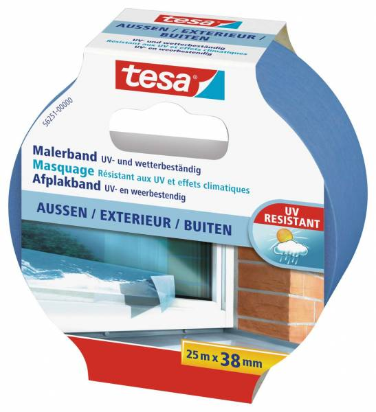 tesa® 56251 Malerband Außen 25 m : 38 mm