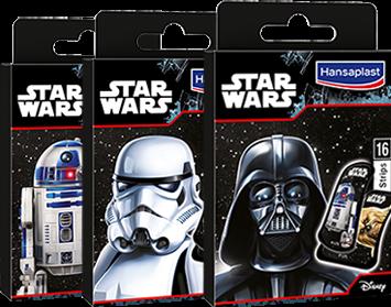 Pflaster mit Motiv Star Wars von Hansaplast