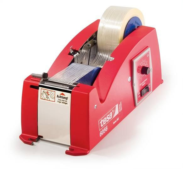 tesa® 6056 ist ein halbautomatischer Tischabroller
