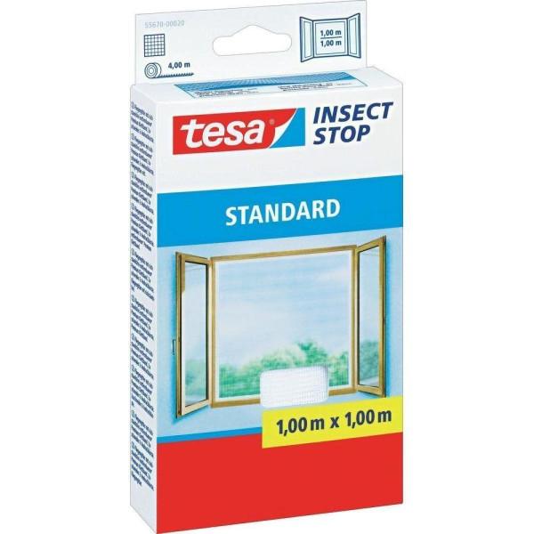 tesa® Insect Stop Fliegengitter STANDARD für Fenster weiß