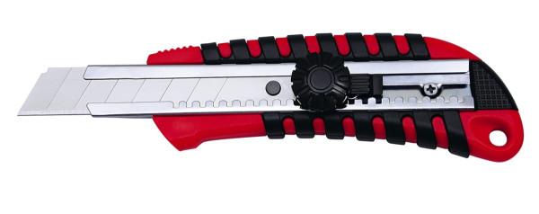 Cutter von Wedo 18mm mit Feststellschraube, inkl. 2 Ersatzklingen