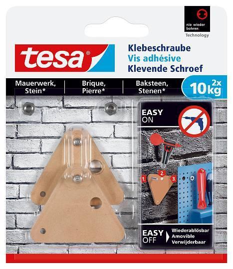 tesa® Klebeschraube für Mauerwerk und Stein (10kg) 77907