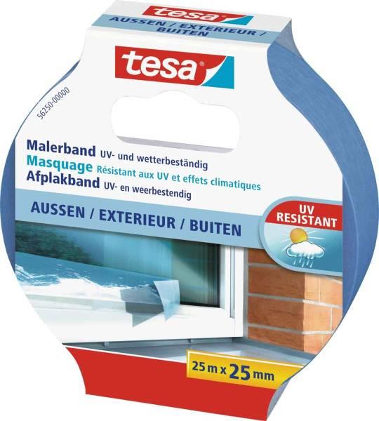 tesa®56250 Malerband Außen 25 m : 25 mm