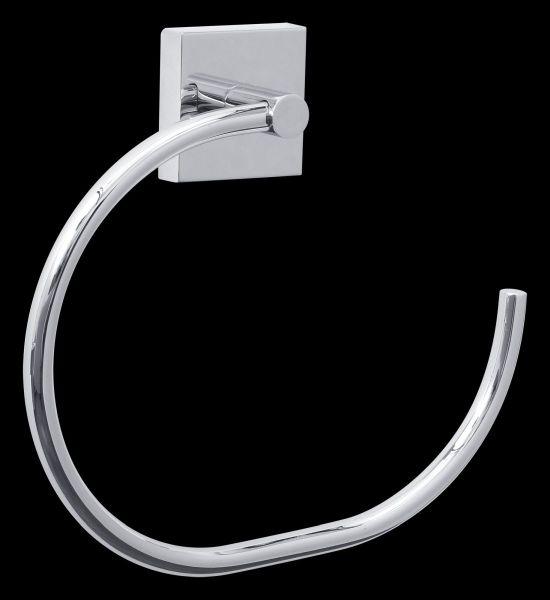 tesa® ekkro Handtuchring, verchromt, inkl. Klebelösung