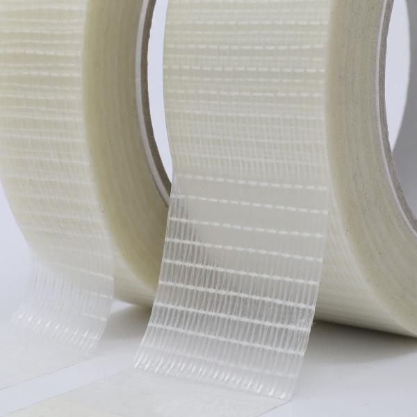 gws 41951 kreuzverstärktes Filament Verpackungs-Klebeband Nahaufnahme Kreuzverstärkung