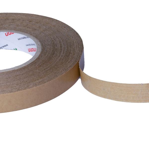 DuploCOLL 1120N Lösemittelfreies, umweltfreundliches doppelseitiges Haftklebeband 50m lang 19mm oder 30mm breit