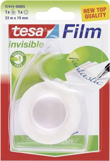 tesafilm® matt-unsichtbar + Handabroller transparent, Blister
