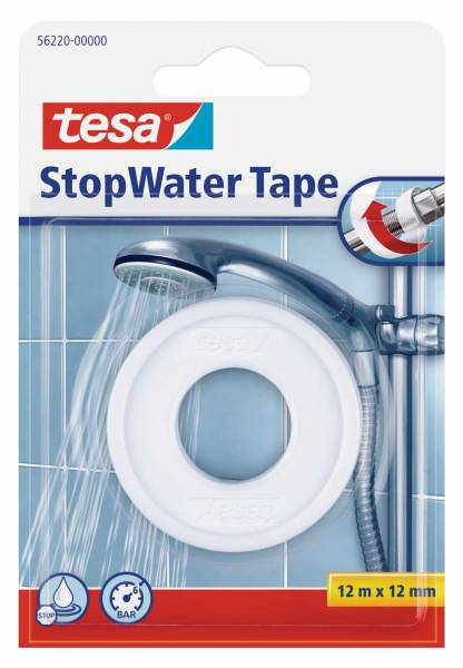 tesa® 56220 StopWater Tape 12m:12mm