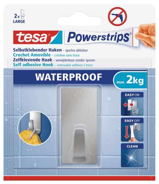 PS Waterproof HakenL Metall Rechte.59779