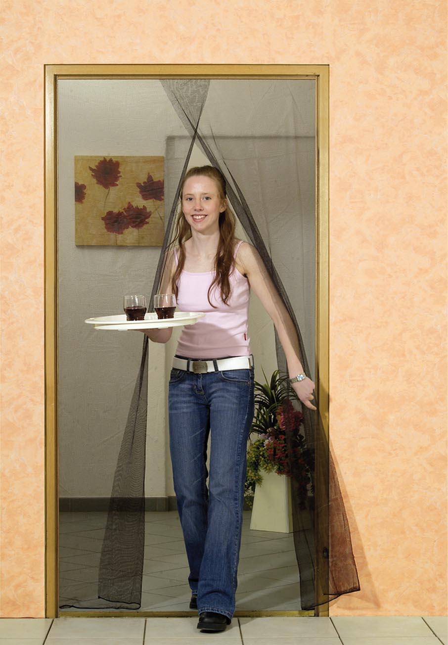 easylife fliegengitter f r t ren mit klettband. Black Bedroom Furniture Sets. Home Design Ideas