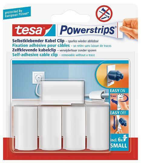 tesa Powerstrips® 58035 Kabel-Clip