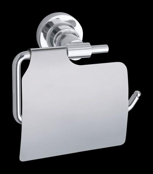 tesa® luup Toilettenpapierhalter m. Deckel