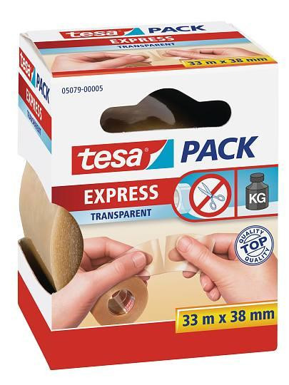 tesapack® Express, transparent