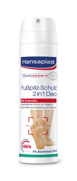 Hansaplast Fußpilz-Schutz 2in1 Deo mit Octenidin