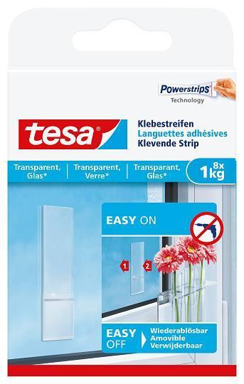 tesa® 77733 Klebestreifen für transparente Oberflächen