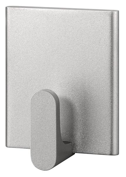 tesa Powerstrips® 57500 Haken Small Rechteck silber