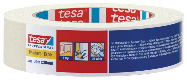 tesakrepp® Malerband 4348 Standard