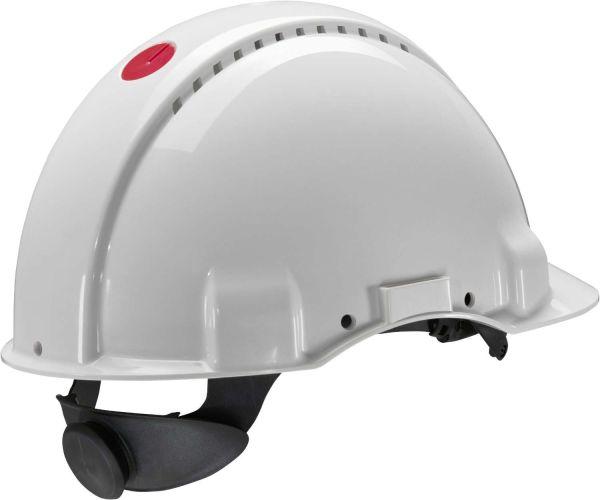 3M G3000 Schutzhelm, mit Uvicator und Kunststoffschweißband