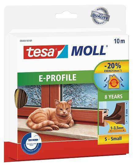 tesamoll® E-Profil Gummidichtung 10m : 9mm : 4mm