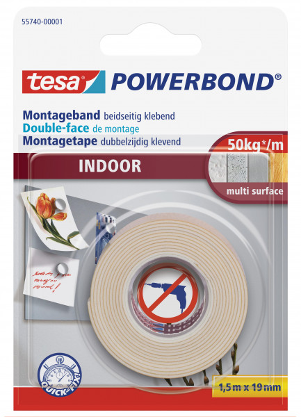 tesa Powerbond 55740 Montageband Indoor
