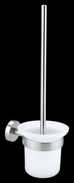 tesa MOON WC-Bürste Edelstahloptik