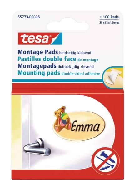 tesa® Montage Pads ~ 100 Pads