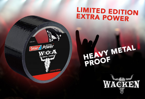 tesa Extra Power Universal Gewebeband W:O:A 2018 Limited Edition