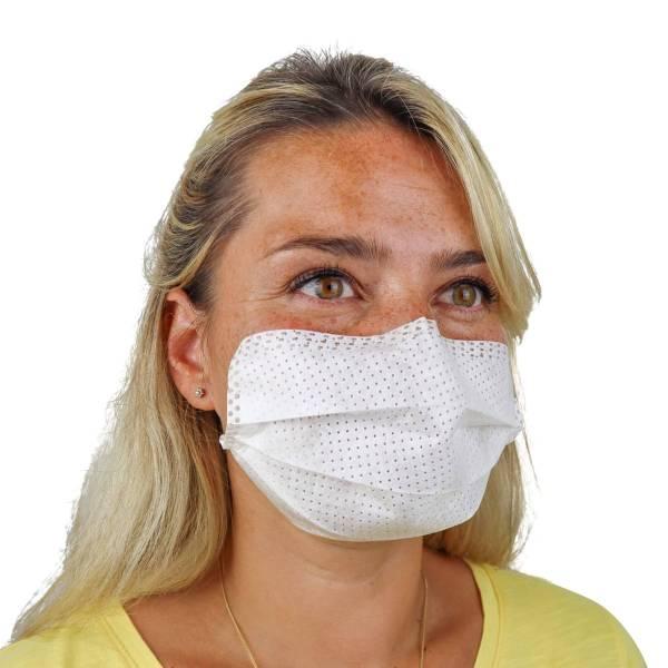 Selbstklebende Atemschutzmaske (50 Stück)
