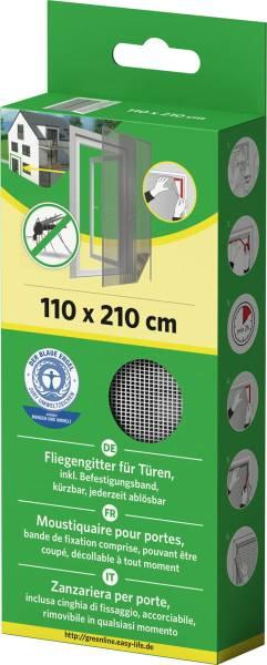easylife Fliegengitter für Türen 110x210m weiß