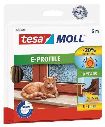 tesamoll® E-Profil Gummidichtung 5463