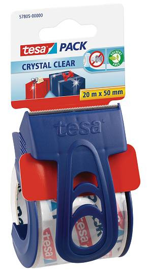 tesapack® Crystal Clear (PP) + Einweg Abroller