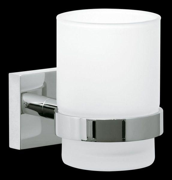 tesa® ekkro Zahnbürstenhalter, verchromt