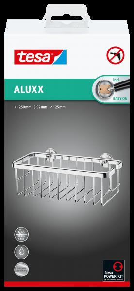 tesa ALUXX Ablagekorb einstöckig viereckig 40201