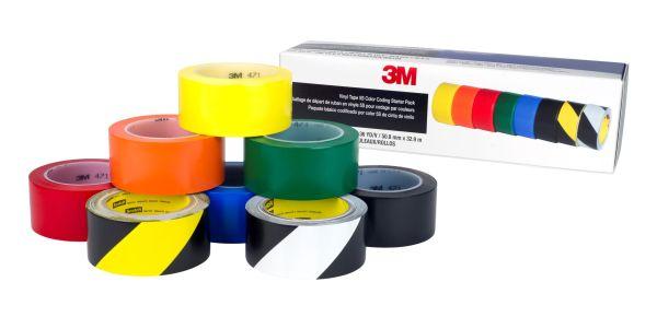 3M Vinyltape Bodenmarkierungsband 971 Starterset