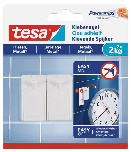 tesa® Klebenagel für Fliesen und Metall 77762 2kg