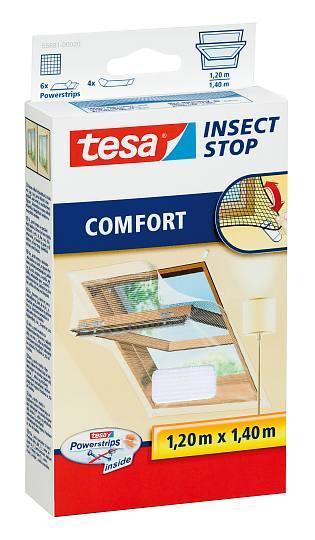 tesa® Insect Stop Fliegengitter COMFORT für Dachfenster