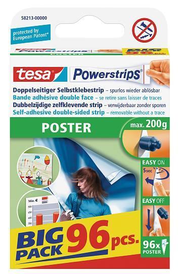 tesa Powerstrips® Posterstrips 58213 Klebestrips