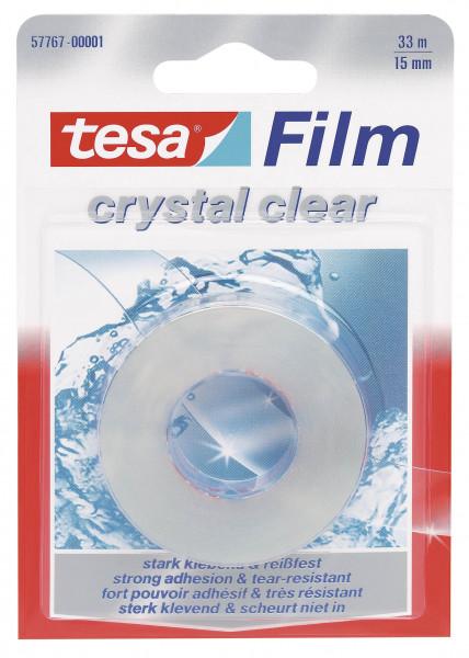 tesafilm® kristall-klar, 1 Rolle, Blister
