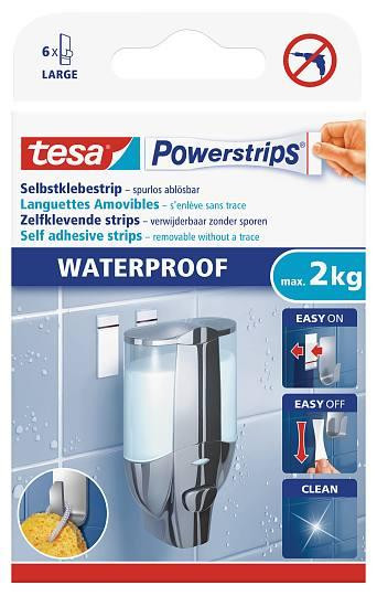 tesa Powerstrips® 59700 Waterproof Strips 59700 Klebestrips