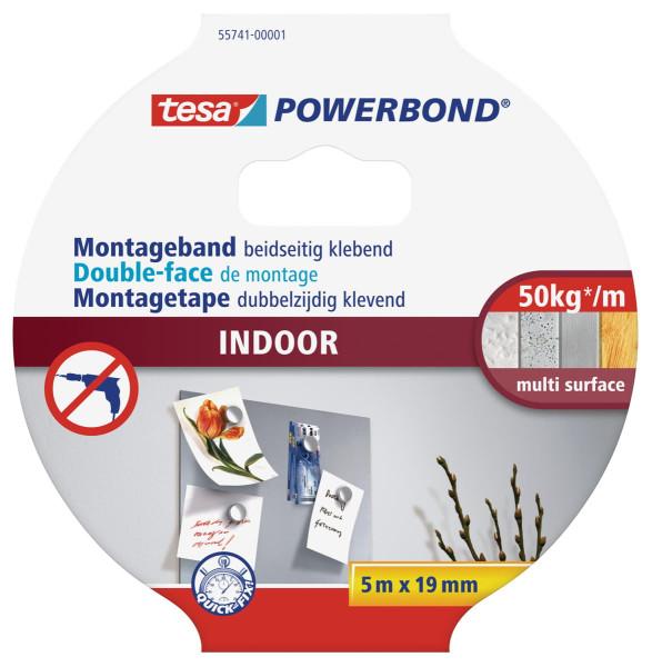 tesa Powerbond 55741 Montageband Indoor 19mm
