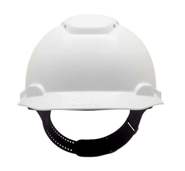 3M™ H700 Schutzhelm, mit Pinlock und Kunststoffschweißband weiß