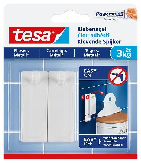 tesa® Klebenagel für Fliesen und Metall 77763 3kg